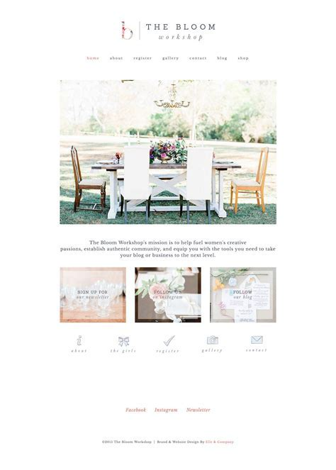 10 best example Squarespace websites ? Feminine edition
