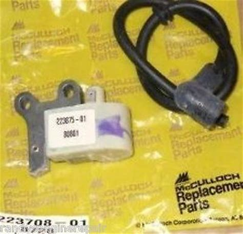 ignition module coil mcculloch eager beaver    randys engine repair