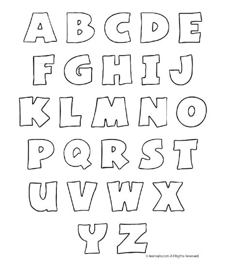 letras gruesas para carteles letras may 250 sculas varios pinterest letras de letras
