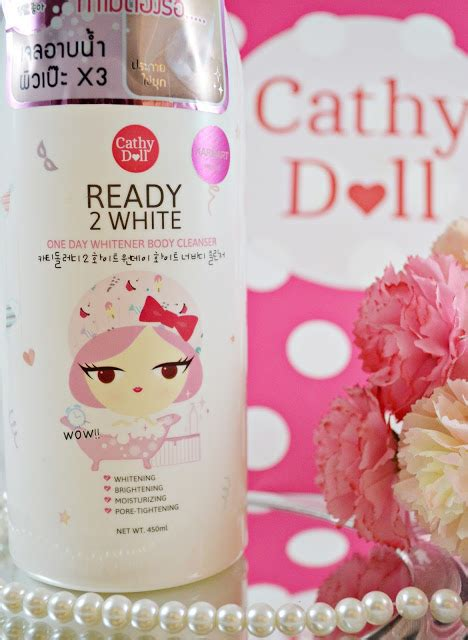 Ready 2 White 2 In 1 Mousse Cleanser Best Seller cathy doll ready 2 white one day whitener cleanser all about 101
