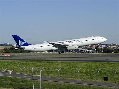 Aa Garuda Indonesia Airbus Pesawat Terbang gambar transportasi daftar maskapai penerbangan di indonesia