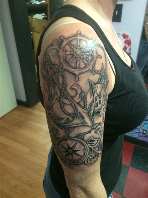 nautical  sleeve tattoos designs ideas  meaning