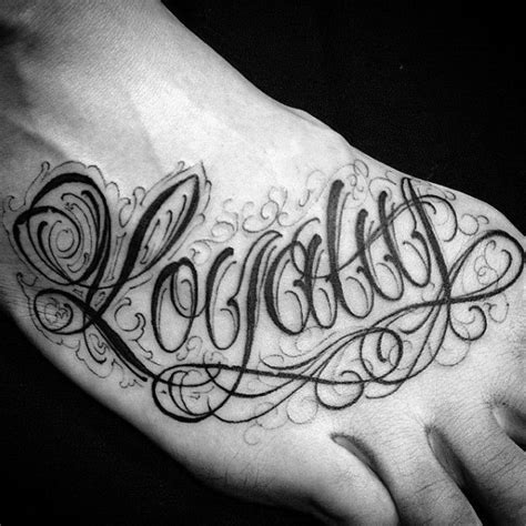 tattoo lettering loyalty 50 loyalty tattoos for men faithful ink design ideas