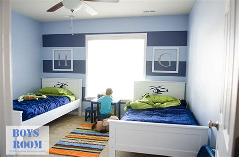 boys bedroom color boys room makeover reveal shared bedrooms hgtv and bedrooms