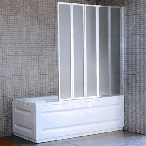 bi fold bath shower screen 4 fold bath screen ebay