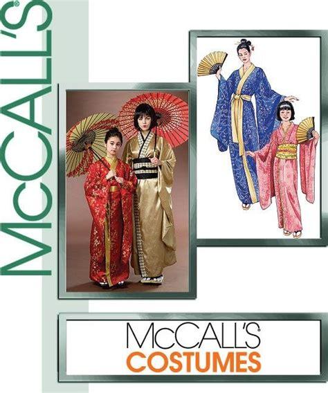 kimono pattern mccalls diy sewing pattern mccalls 4953 kimono geisha pattern