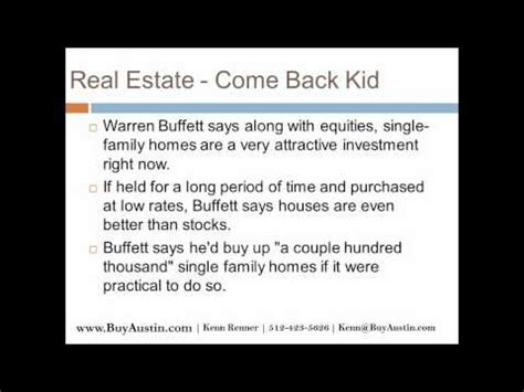 i want to be a realtor warren buffet real estate quotes 512 423 5626