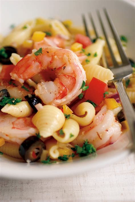 pasta salad italian dressing shrimp and pasta salad recipe relish