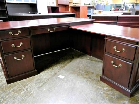 wood l shaped desks stylish wood l shaped desk