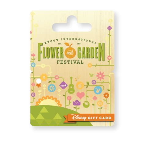 Activate Disney Gift Card - new wearable disney gift card designed for epcot international flower garden