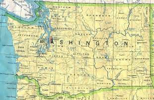 state of washington maps of interstate highways cities