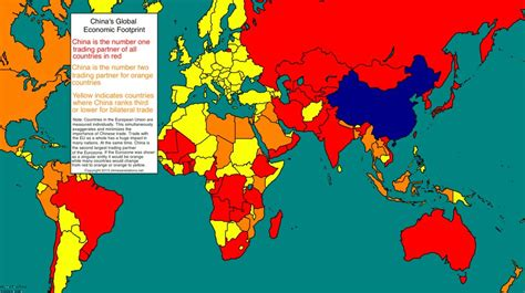 map  china dominates global trade business insider