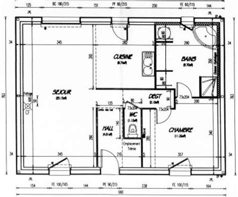 Plan Appartement 65m2 by Plan De Maison 65m2