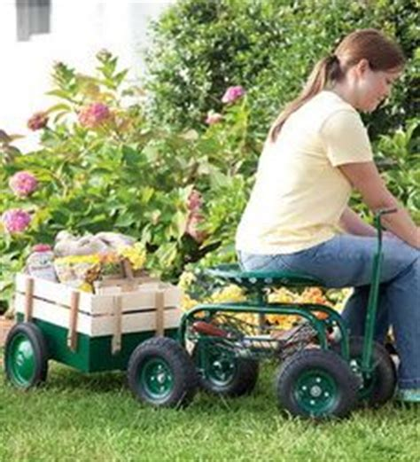Rolling Greens Garden Stool by 1000 Images About Garden Cart With Seat On