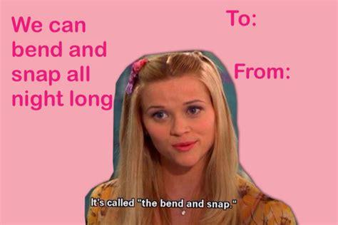Sexy Valentine Meme - legally blonde card