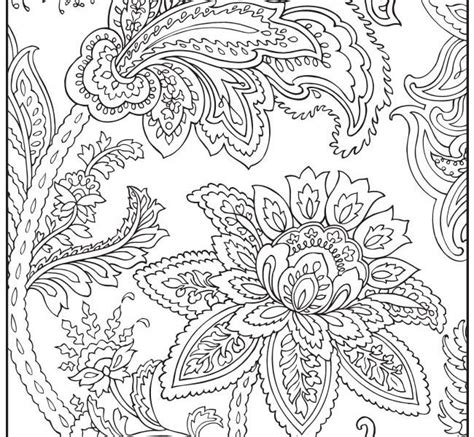free adult coloring pages dover sheets printable