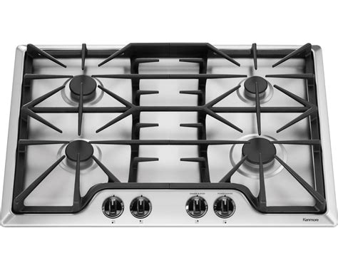 30 Gas Cooktop Kenmore 32533 30 Quot Gas Cooktop Stainless Steel