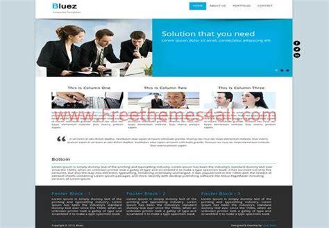 drupal soccer theme biz blue free drupal theme template freethemes4all