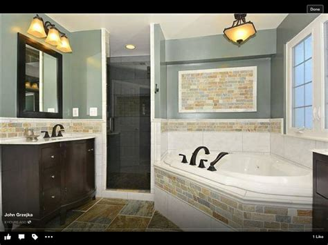 Bathroom Half Tiled Half Painted by Half Tile Half Painted Wall Only With More Bold Colors In The Tile And Wall Would This Make