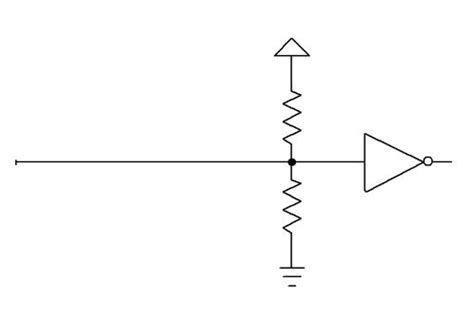 end of line termination resistor embedelectromagnetics