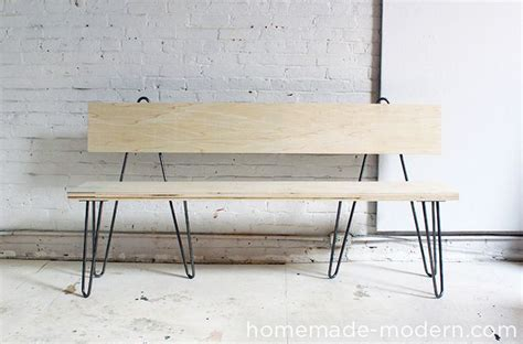 diy plywood bench 25 best ideas about bench with back on pinterest wood