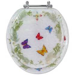 decorative toilet seat butterfly design standard