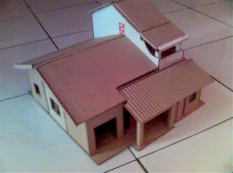 cara membuat rumah dari kardus mie cara membuat miniatur rumah dari kardus sisa