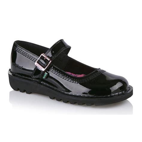 kickers shoes for kickers kickers s kick bar patent black 113368 work