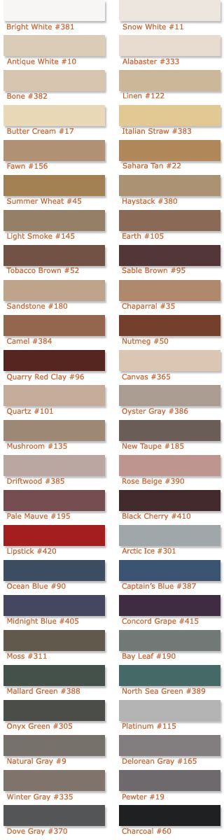 selecting grout colors