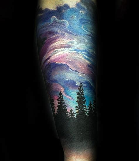 achievement tattoo designs 50 northern lights designs for