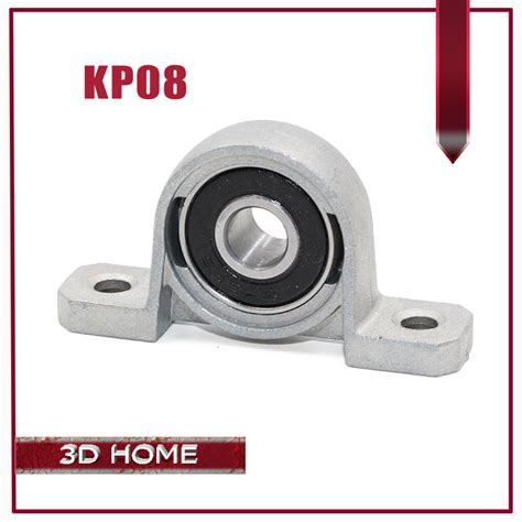 8mm Bearing By E C 1 1pc kp08 8mm bore diameter self align mounted pillow block bearing zinc alloy quality for