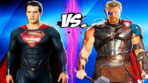 movie thor vs man of steel superman thor vs superman man of steel vs thor ragnarok 2017