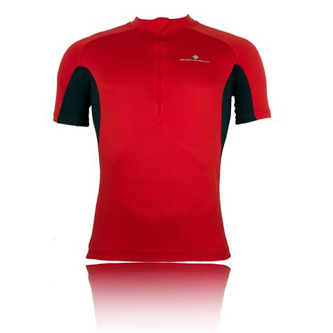 Sleeve Zip T Shirt ronhill bikewear sleeve half zip t shirt
