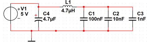 capacitor decoupling circuit power supply power supply decoupling