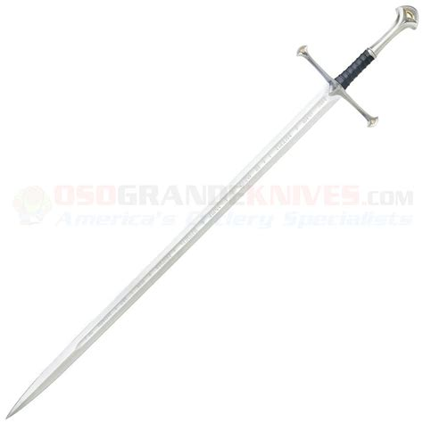 united cutlery anduril review united cutlery 1380s lord of the rings anduril sword of