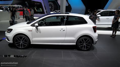 volkswagen polo 2015 2015 volkswagen polo gti powers up in time for paris live