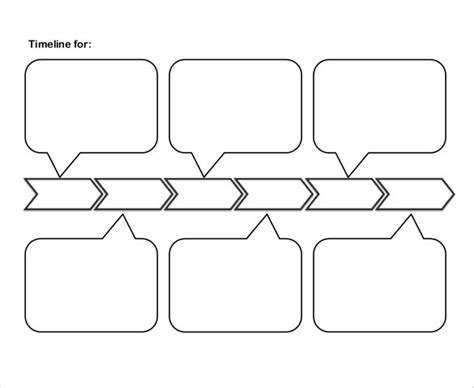 Free Blank Timeline Template by 47 Blank Timeline Templates Psd Doc Pdf Free