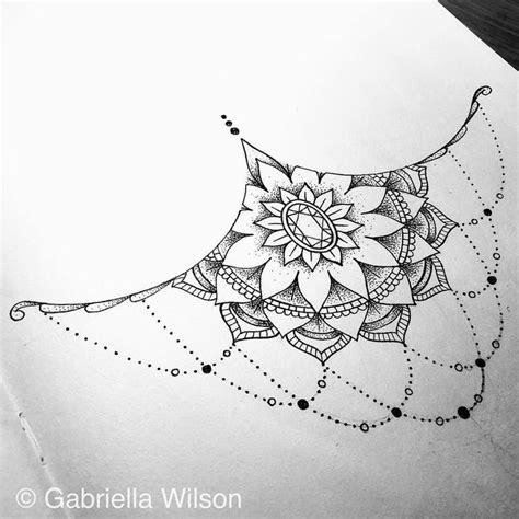 sternum mandala tattoo pin by kaitlin larson on modification