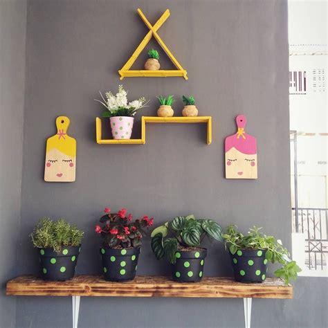 Hiasan Dinding Wood Solid hiasan dinding dari stik es krim sebagai kreasi dekorasi