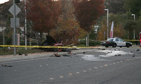 paul walker porsche crash lasd determines cause of crash that killed paul walker