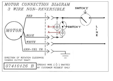 reversible motor wiring diagram 31 wiring diagram images