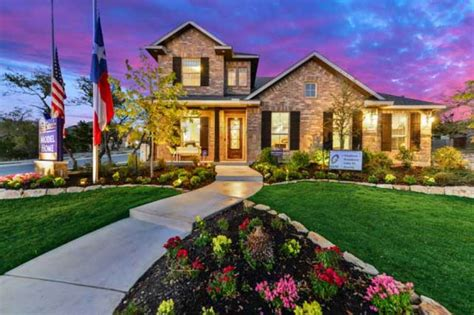 sitterle homes touts available homes in kinder ranch san