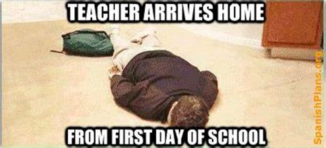 First Week Of School Meme - first day of school first day of school memes for teachers