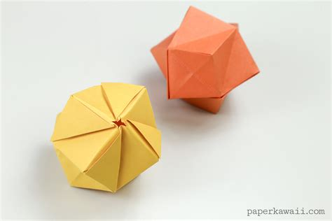 List Of Origami - origami stellated octahedron