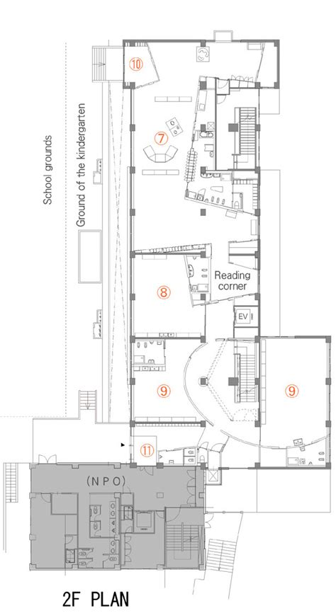 kindergarten floor plan exles gallery of mokumoku kindergarten 16a inc 21