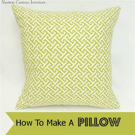How To Make A Pillow Form by How To Make A Pillow A Craft In Your Day