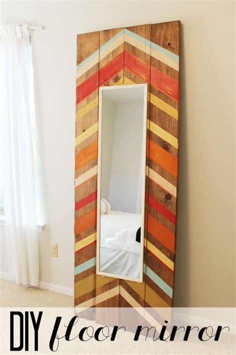 diy full length floor mirror tutorial child at heart how