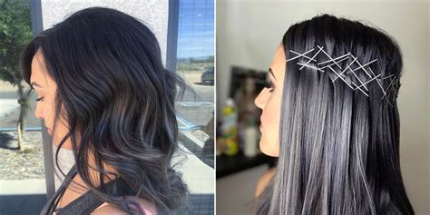 what to dye your hair when its black charcoal hair is trending on instagram allure