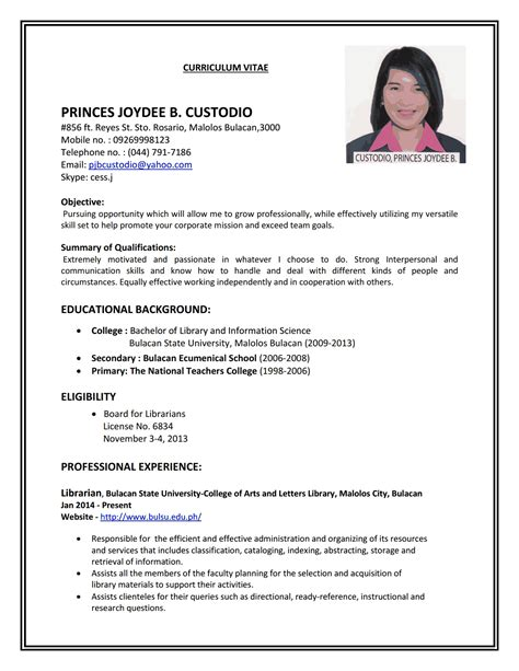 magnificent resume format sle for application resume format cv doctors bitrace sle and