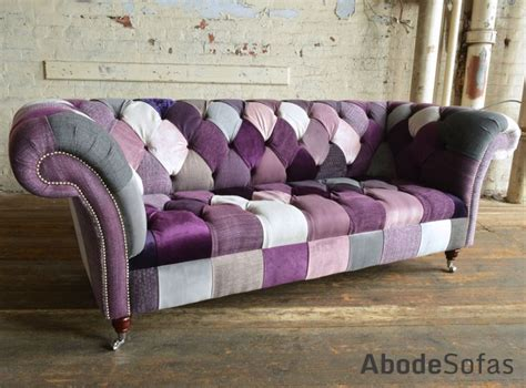 patchwork chesterfield sofa walton patchwork chesterfield